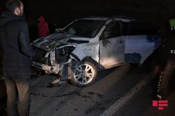 При ДТП в Баку пострадали двое граждан Турции - [color=red]ФОТО[/color]