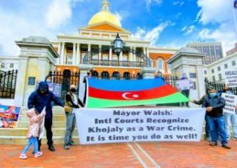 В Бостоне прошла акция протеста азербайджанцев - [color=red]ФОТО[/color]