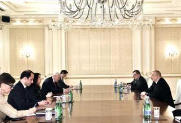 Президент Ильхам Алиев принял делегацию во главе с действующим председателем ОБСЕ - [color=red]ОБНОВЛЕНО[/color]