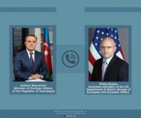 Джейхун Байрамов провел переговоры с и.о. помощника госсекретаря США