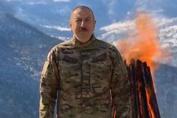 Президент Азербайджана: Мы отмечаем Новруз байрамы в Шуше, на Джыдыр дюзю, это - историческое событие