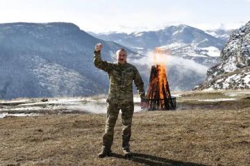 WP: Президент Азербайджана празднует Новруз в освобожденной культурной столице