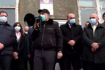 Пашинян заявил, что Армения покупала у России истребители Су-30СМ без ракет