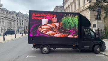 В Британии стартовала кампания азербайджанцев по случаю праздника Новруз - [color=red]ФОТО[/color]