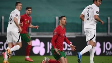 Сборная Азербайджана проиграла Португалии в матче отбора ЧМ-2022