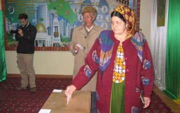 В Туркменистане пройдут первые выборы в верхнюю палату парламента