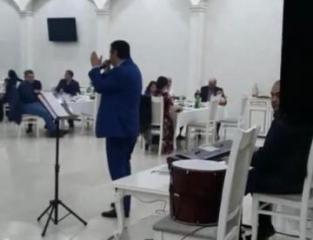 В бакинском ресторане незаконно организовали свадебную церемонию - [color=red]ВИДЕО[/color]