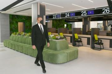 Президент Ильхам Алиев принял участие в открытии Центра DOST № 4 в Баку - [color=red]ОБНОВЛЕНО[/color]