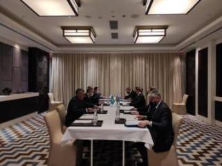 Глава МИД Азербайджана встретился с казахстанским коллегой