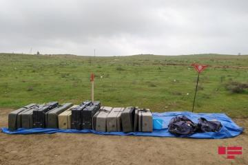 Journalists watched demining operation in liberated territories of Fuzuli