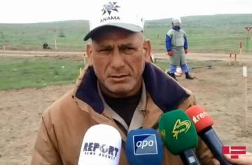 "ANAMA official: ""More than 3 million 600 thousand sq / m area cleared of mines so far"" - [color=red]VİDEO[/color]"
