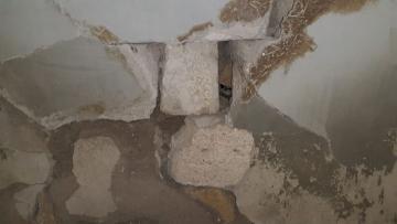 В Гобустане произошел оползень, повреждены более 40 домов