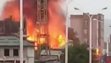 На АЗС в Душанбе прогремел мощный взрыв, ранены 29 человек - [color=red]ВИДЕО[/color] - [color=red]ОБНОВЛЕНО[/color]