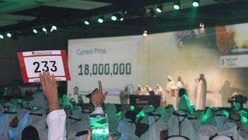 В Дубае автомобильный номер продали более чем за 10 млн долларов