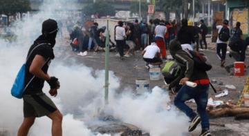 Kolumbiyada etiraz aksiyaları zamanı 548 nəfər itkin düşüb