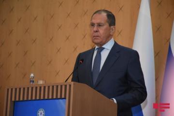 """Lavrov: """"Qarabağda mina xəritələrinin verilməsi məsələsi tezliklə həll olunmalıdır"""""""