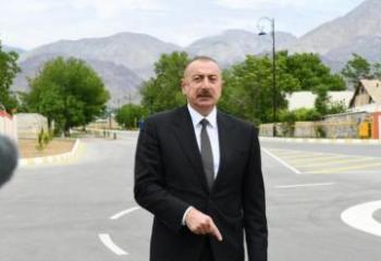 Ильхам Алиев предупредил Армению: Если мы увидим хоть небольшую угрозу, то немедленно уничтожим их прямо на месте