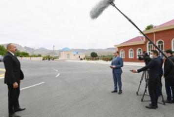 Президент: Укреплению оборонного потенциала Нахчывана всегда уделялось большое внимание