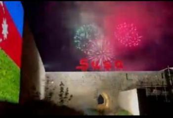 Мехрибан Алиева поделилась кадрами салюта в Шуше - [color=red]VİDEO[/color]