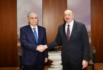 Президент Казахстана позвонил президенту Азербайджана Ильхаму Алиеву