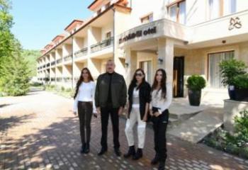 В Шуше состоялось открытие после реконструкции отеля «Хары Бюльбюль»  - [color=red]FOTO[/color]