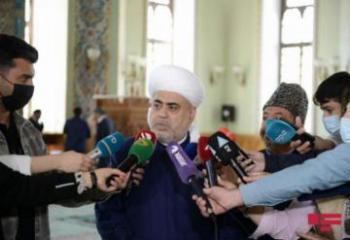 Шейхульислам: Посвященная нашей Победе мечеть, которая будет построена в Шуше, Бог даст, станет венцом нашей Родины