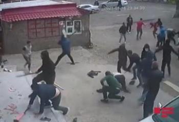 В Грузии произошла массовая драка  - [color=red]ВИДЕО[/color]