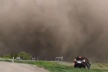 Пыльная буря накрыла Дагестан - [color=red]ВИДЕО[/color]