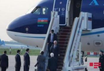 Начался официальный визит премьер-министра Азербайджана в Россию