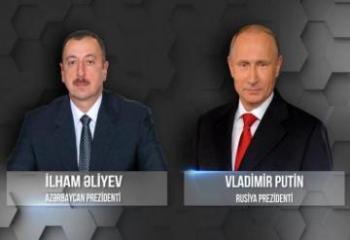 Ильхам Алиев и Владимир Путин обсудили события на азербайджанско-армянской границе