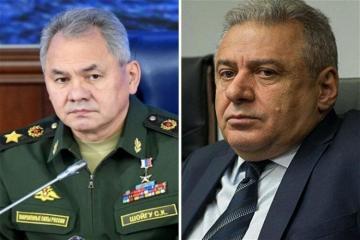 В Москве состоялась встреча министров обороны России и Армении