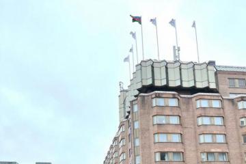В Стокгольме поднят азербайджанский флаг - [color=red]FOTO[/color]