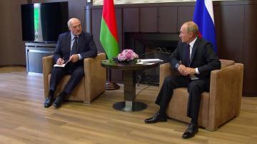 Переговоры Путина и Лукашенко длились более пяти часов