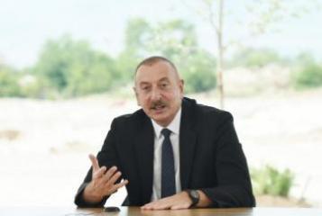 Президент Ильхам Алиев: Каждый раз, находясь на линии соприкосновения, я говорил себе, что мы обязательно вернемся