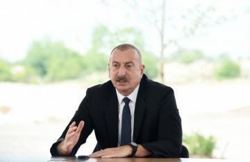 Президент Ильхам Алив: До сих пор мне неизвестно, в каком углу Пашинян подписал акт о капитуляции Армении