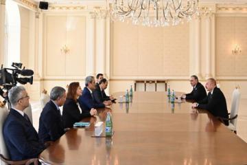 Президент Ильхам Алиев принял генпрокурора Верховного суда Турции-[color=red]ОБНОВЛЕНО-ВИДЕО[/color]