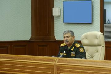 Закир Гасанов поручил предпринять незамедлительные меры по пресечению провокаций противника