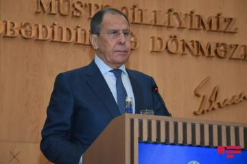 Russia is pleased with results of Azerbaijani, and Armenian FM's meeting