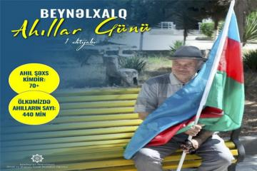 Number of citizens over age of 70 in Azerbaijan unveiled