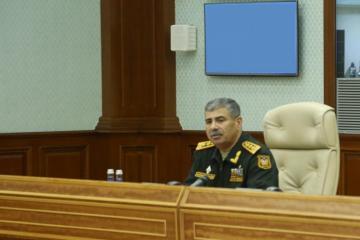В Министерстве обороны состоялось служебное совещание