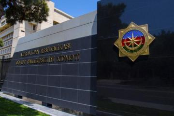 СГБ: Арестован гражданин Азербайджана, сотрудничавший со спецслужбами Армении