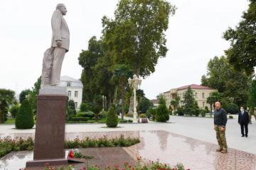 President Ilham Aliyev visited the Barda region