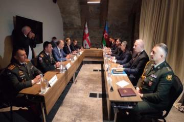 Состоялась двусторонняя встреча между министрами обороны Азербайджана и Грузии-[color=red]ОБНОВЛЕНО[/color]