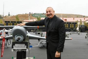Azerbaijani President inaugurates SBS military unit complex in Jabrayil