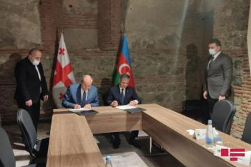 Между Азербайджаном и Грузией подписан документ в сфере военного сотрудничества-[color=red]ФОТО[/color]