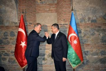 Azerbaijani, Turkish defense ministers met in Kakheti - [color=red]PHOTO[/color] - [color=red]UPDATED[/color]