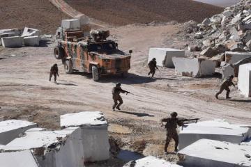 В Нахчыване продолжаются совместные азербайджано-турецкие военные учения-[color=red]ФОТО[/color]