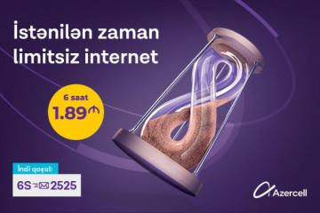 """[color=red][/color]""""Azercell""""in yüksəksürətli mobil internetini çoxçeşidli və sərfəli internet paketləri ilə kəşf edin"""