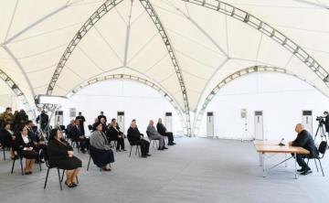 """Prezident İlham Əliyev: """"Hadrutun azad edilməsi Ermənistana çox böyük mənəvi-psixoloji sarsıntı yaşatdı"""""""