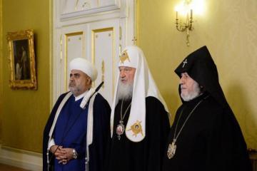 В Москве ожидается встреча председателя УМК с Гарегином II